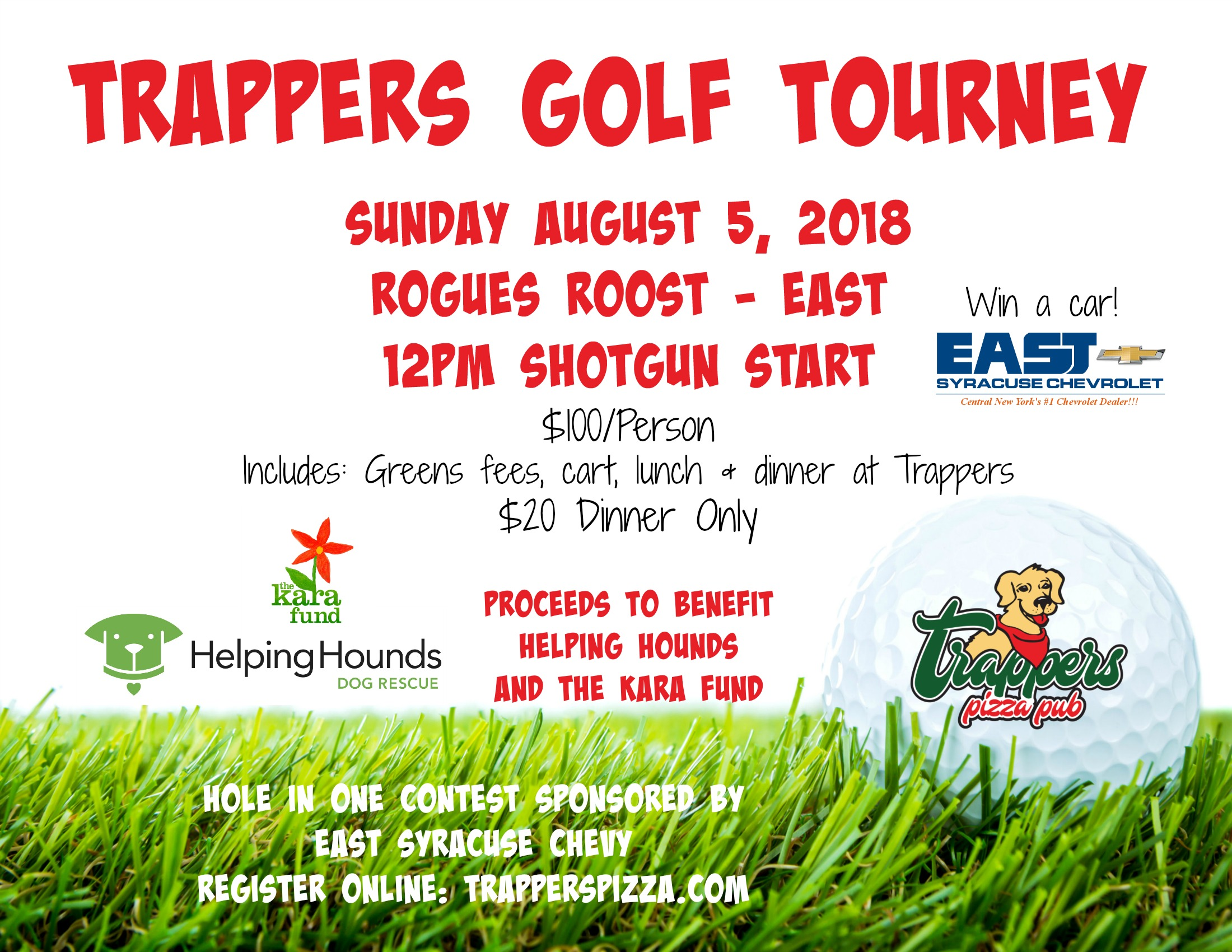 Trappers Golf Tourney 8 5 Trappers Pizza Pub